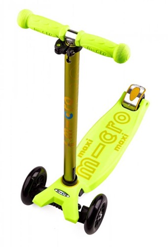 Micro  Maxi Roller Deluxe Gelb