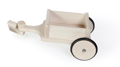 Scratch Holz Laufrad Anhänger