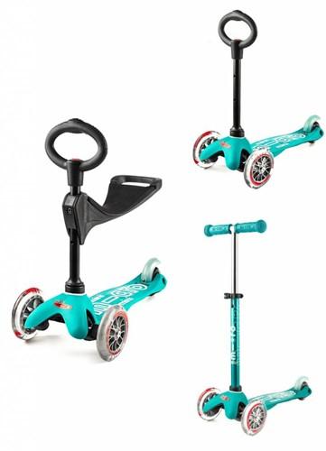 Micro mini Roller 3-in-1 Deluxe Aqua