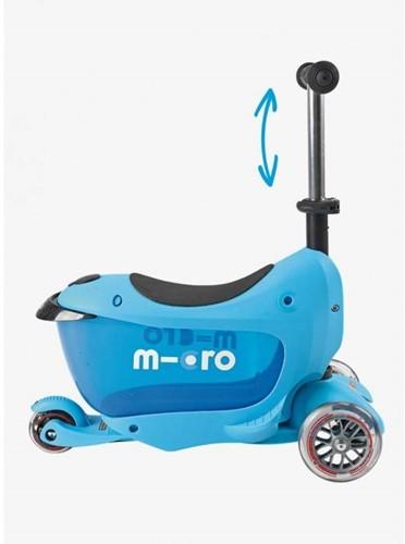 Micro  Mini Laufrad Mini2go Deluxe Plus Blau