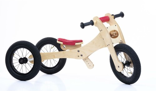 Trybike sattelbezug und kinnschutz rot