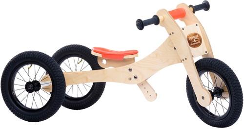 Trybike Holz Laufrad 4-in-1 Orange