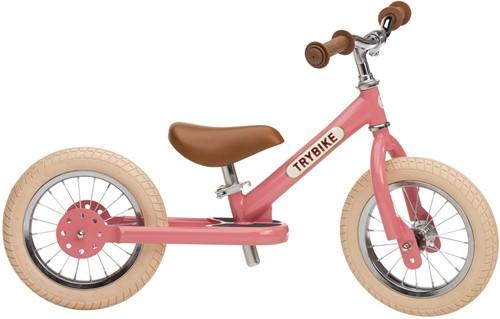Trybike Laufrad Stahl Rosa - Zweirad