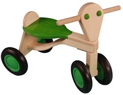 Van Dijk Toys Laufrad Limettengrün - Birke