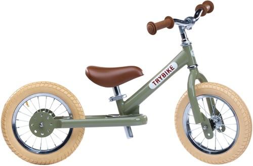 Trybike Laufrad Steel Vintage Grün - Zweirad