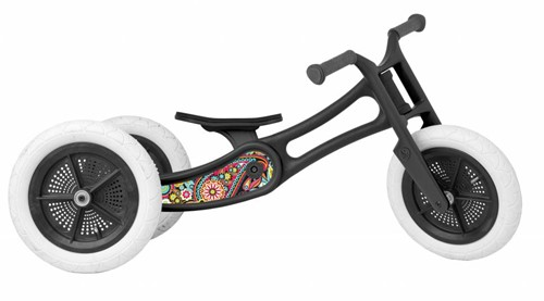 Wishbonebike Laufrad Recycled 3-in-1 - Paisley