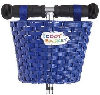 Micro  Roller Zubehör Rollerkorb Blau